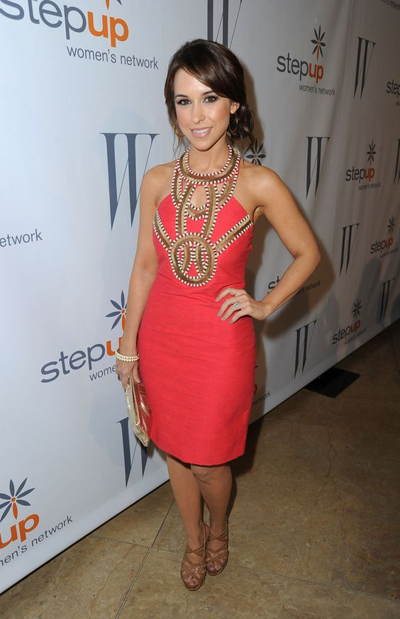 Lacey Chabert hot red dress pic