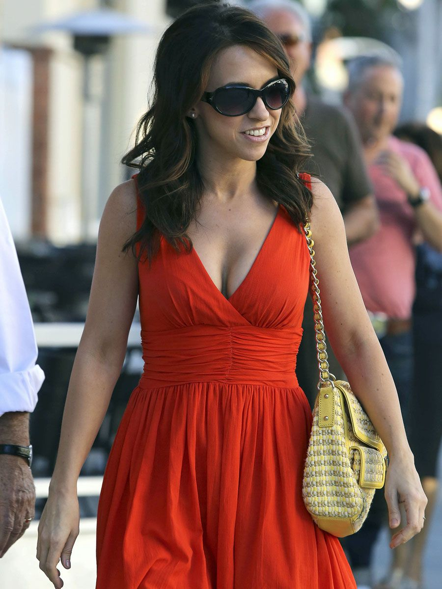 Lacey Chabert hot red