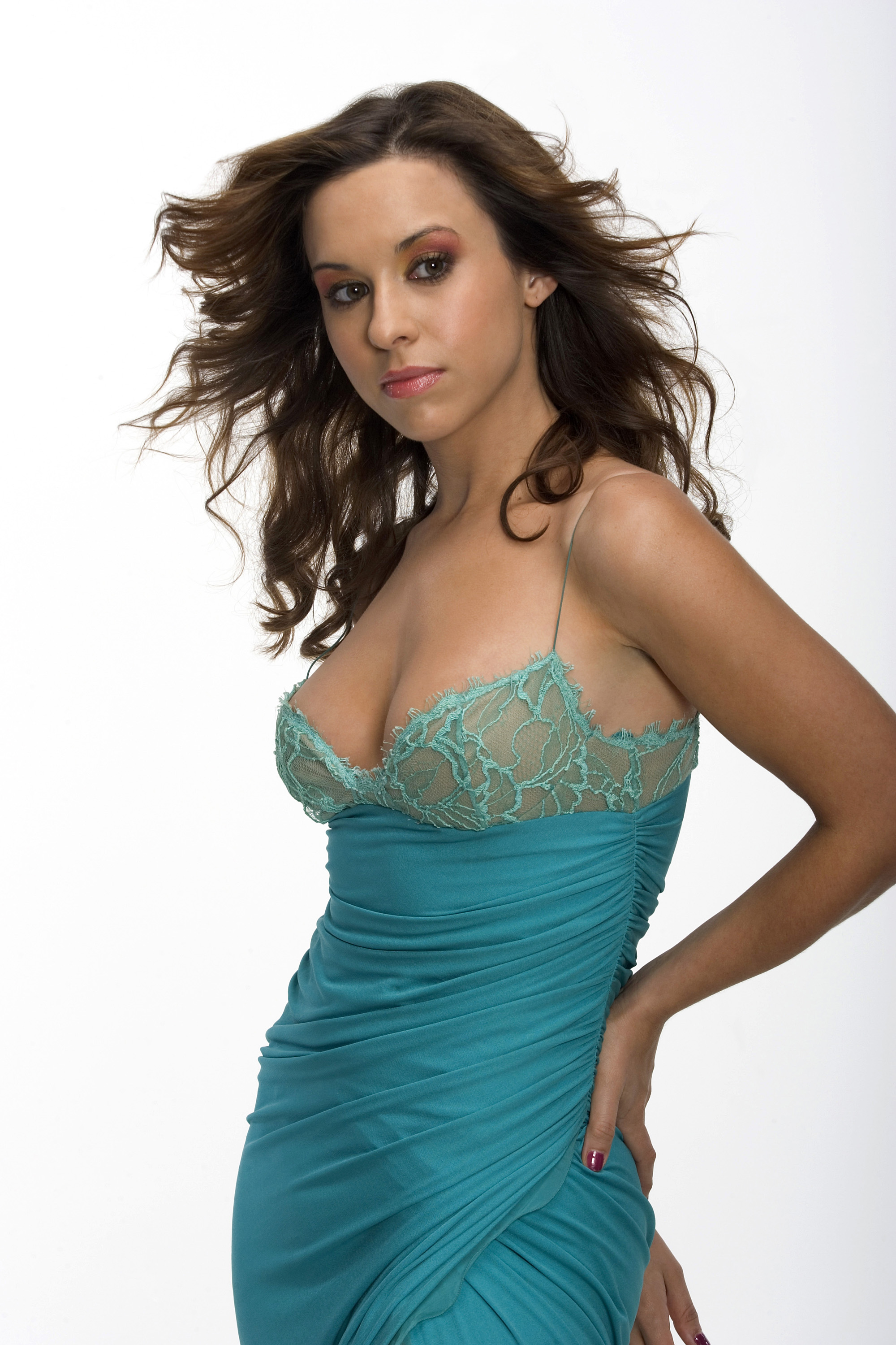 Lacey Chabert sexy and hot boobs