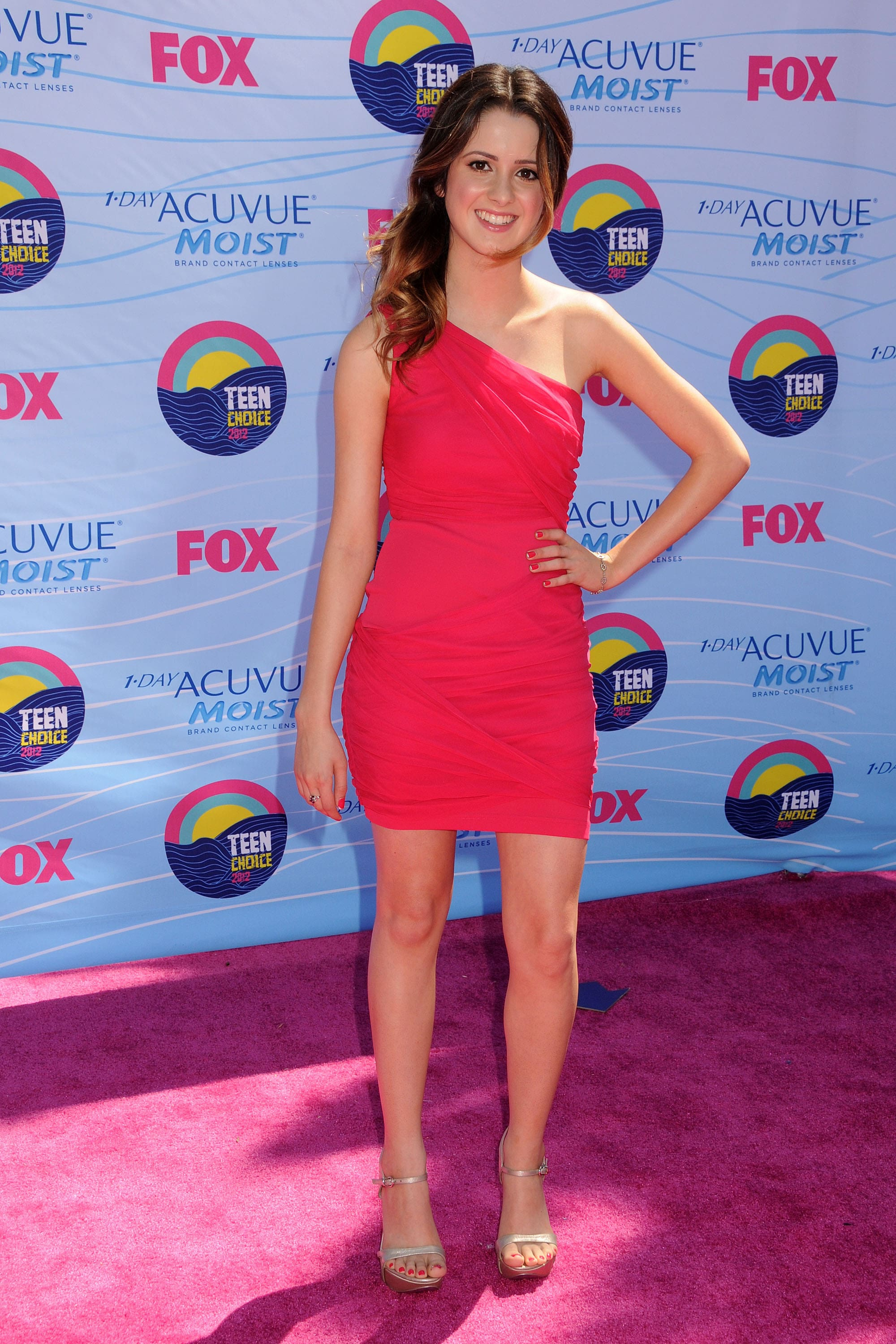 Laura Marano beautiful red dress
