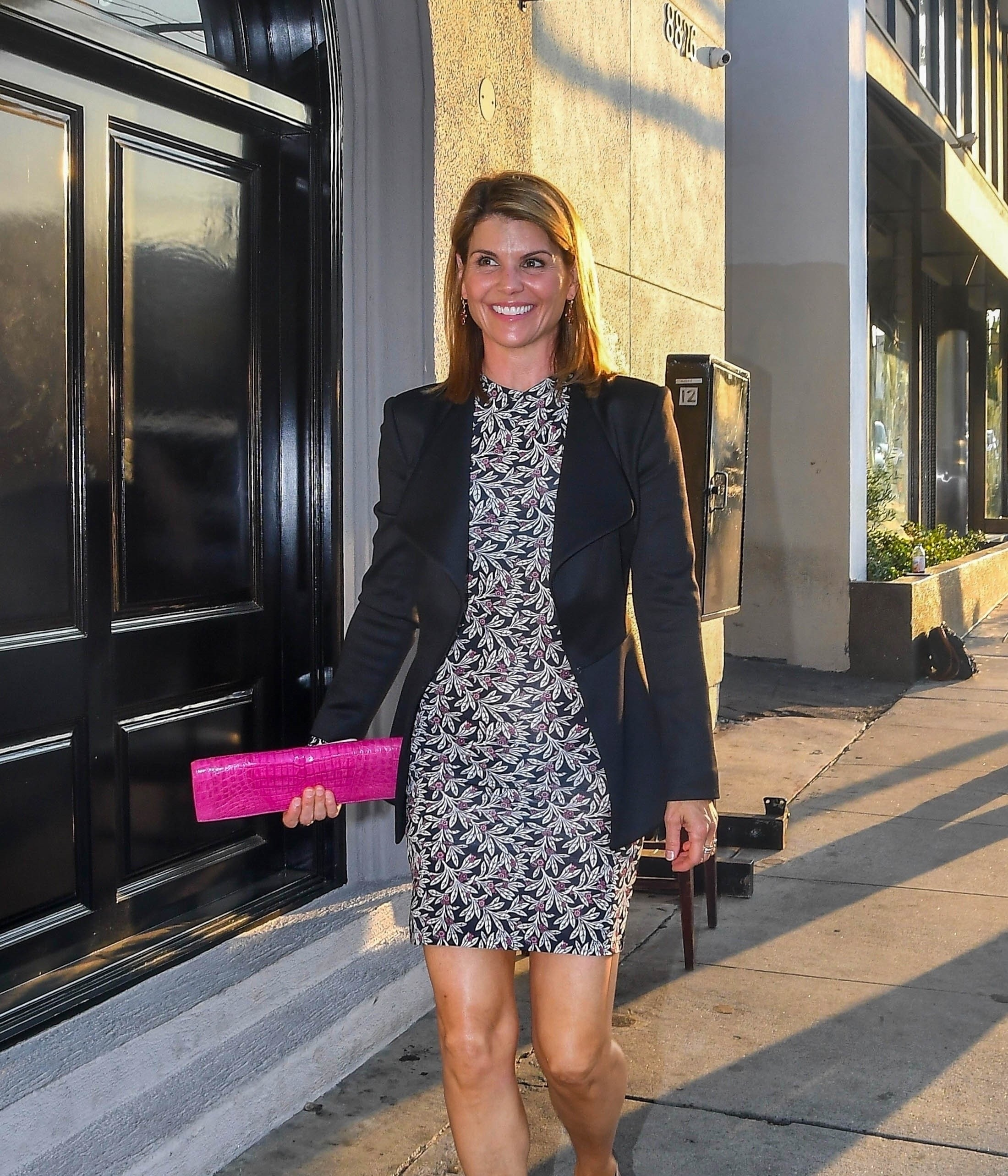 Lori Loughlin celebrates her birthday at Craigs with the Family