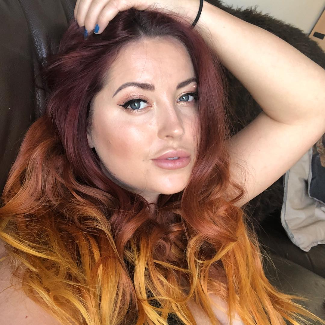 Lucy Collett Sexy Lips