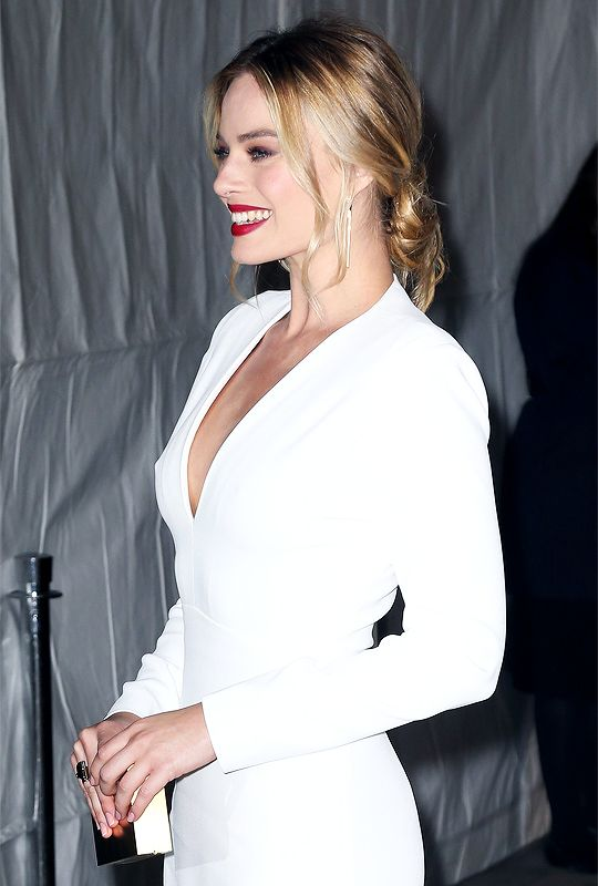 Margot Robbie Smile