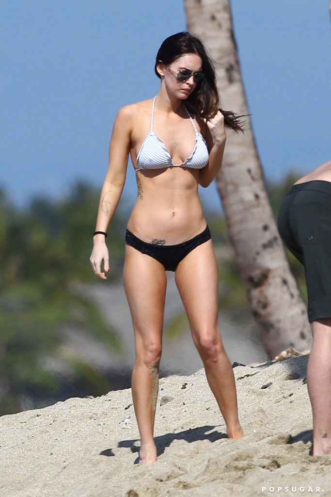 Megan Fox beach