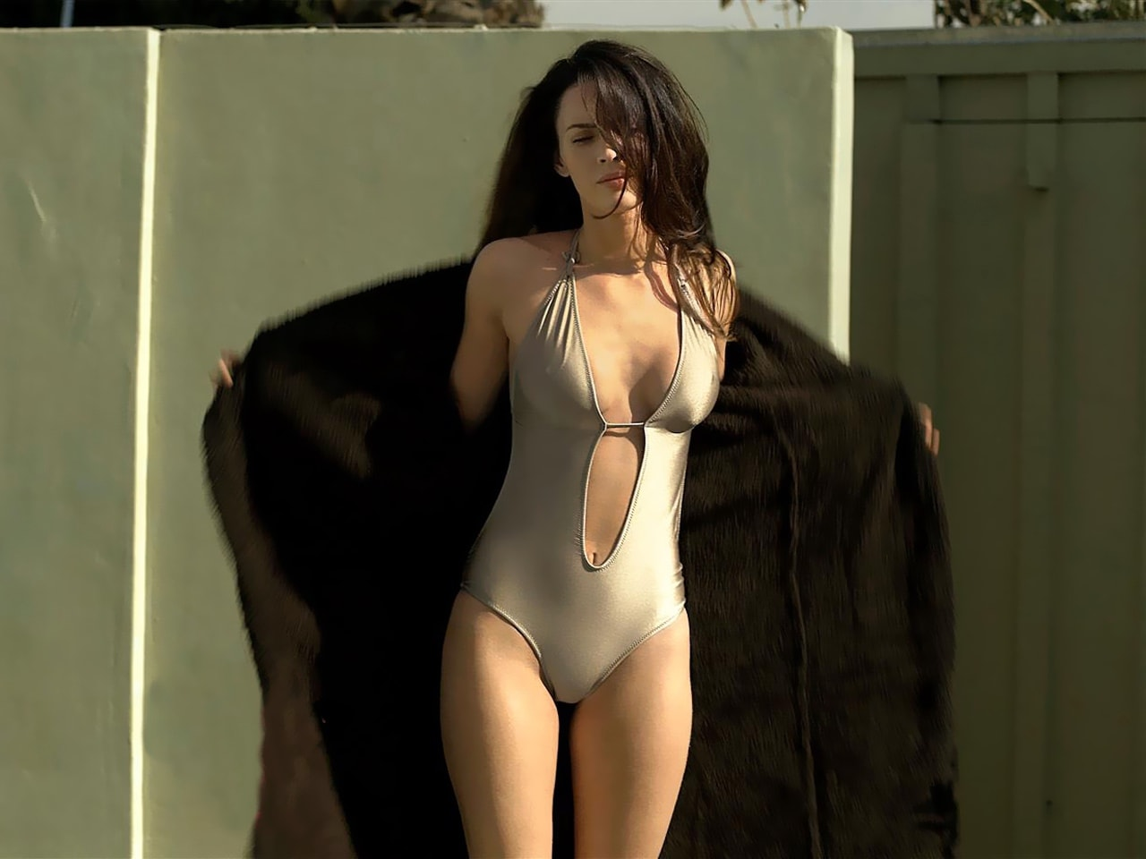 Megan Fox swimsuit sexy