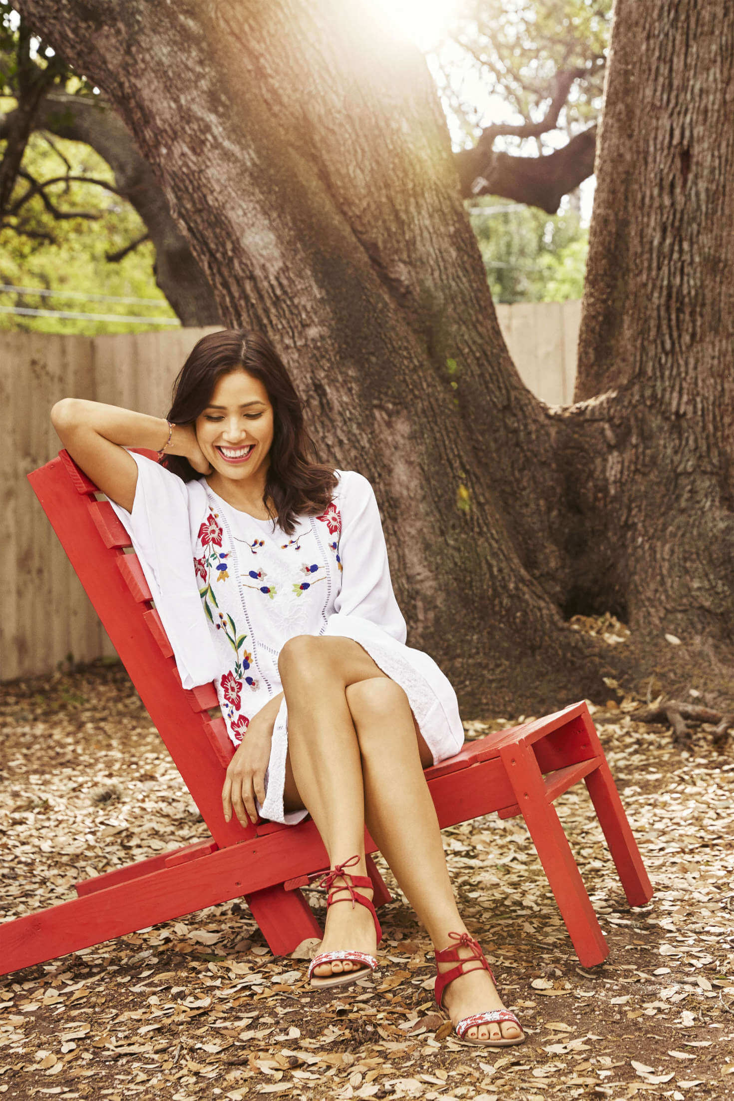 Michaela Conlin awesome feet