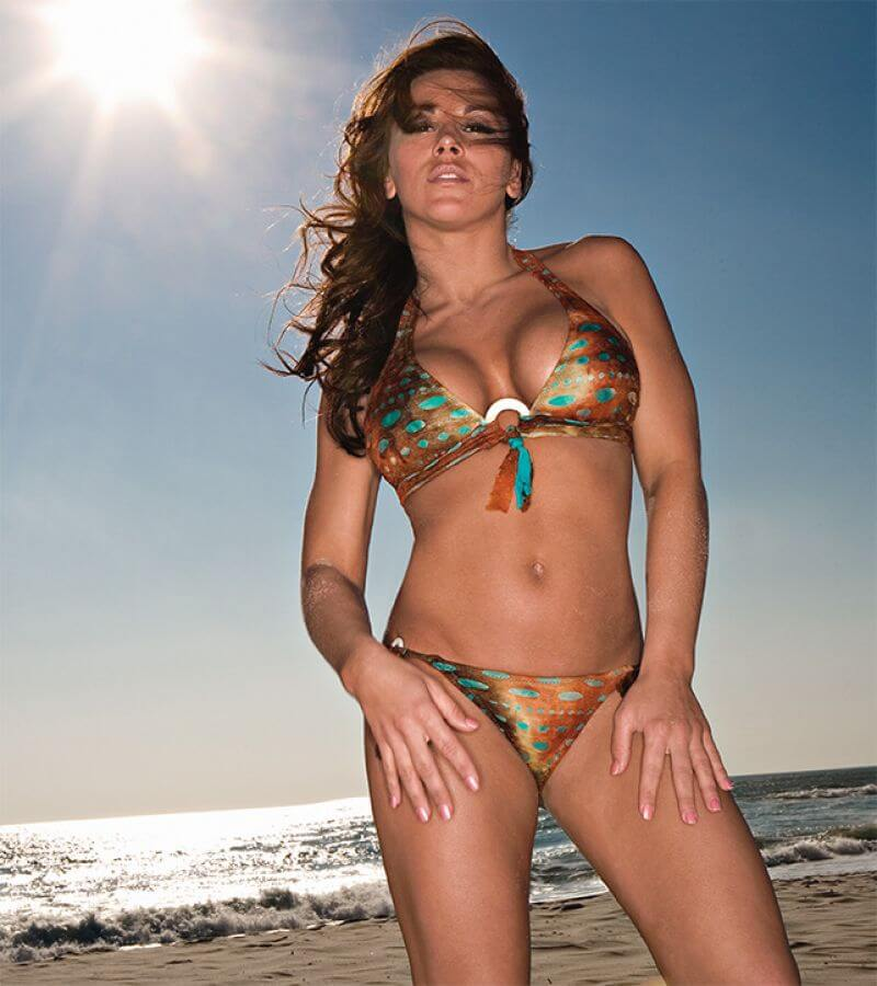 Mickie James hot lingerie pic (2)
