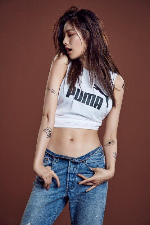 Nana K-Pop hot navel