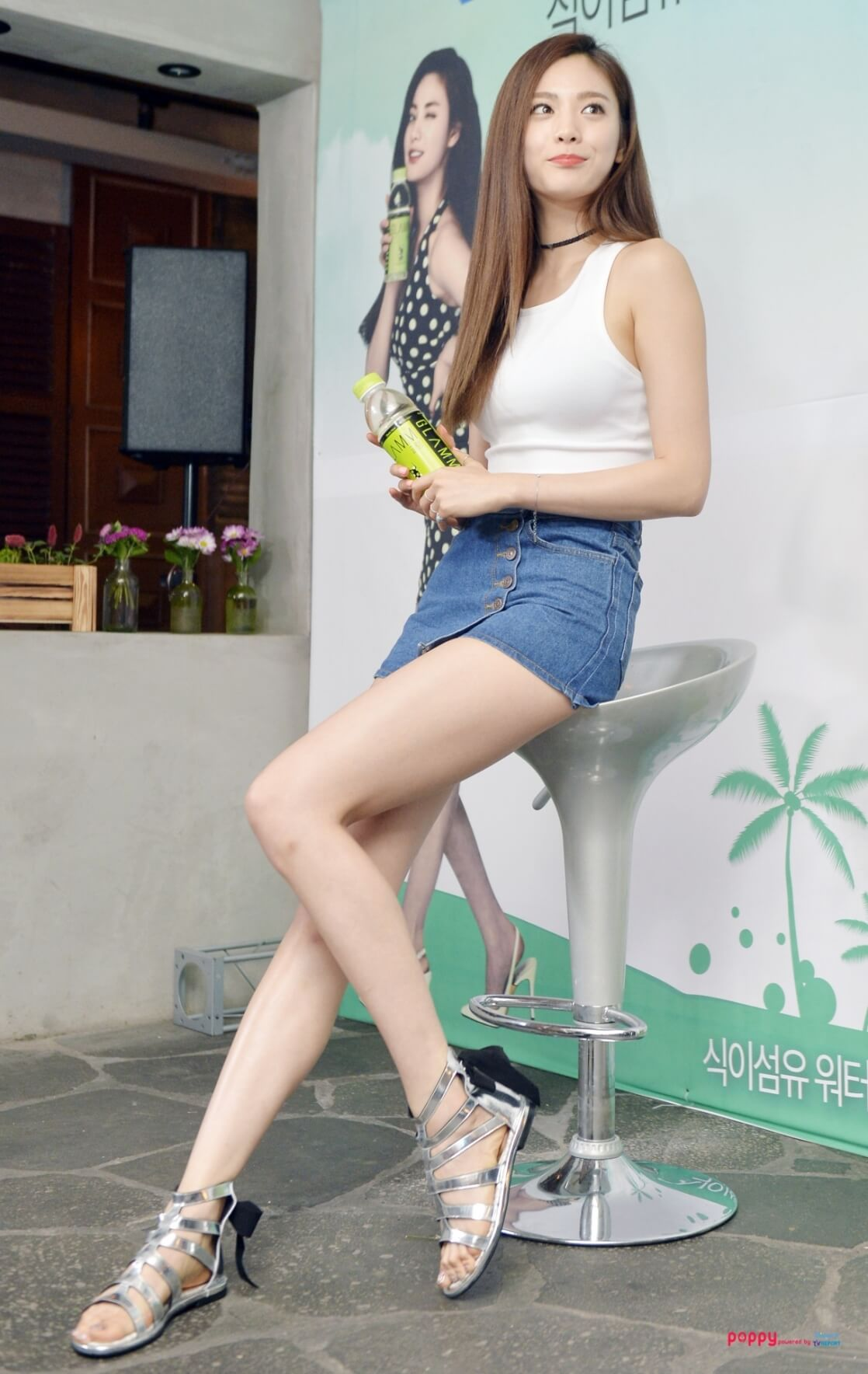 Nana K-Pop sexy long legs