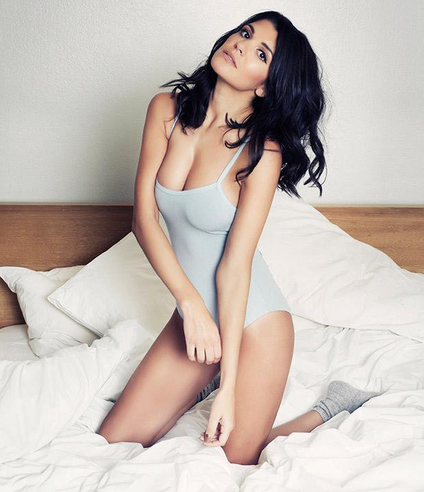 Natalie Anderson on Bed