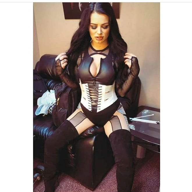 Paige cleavage photo