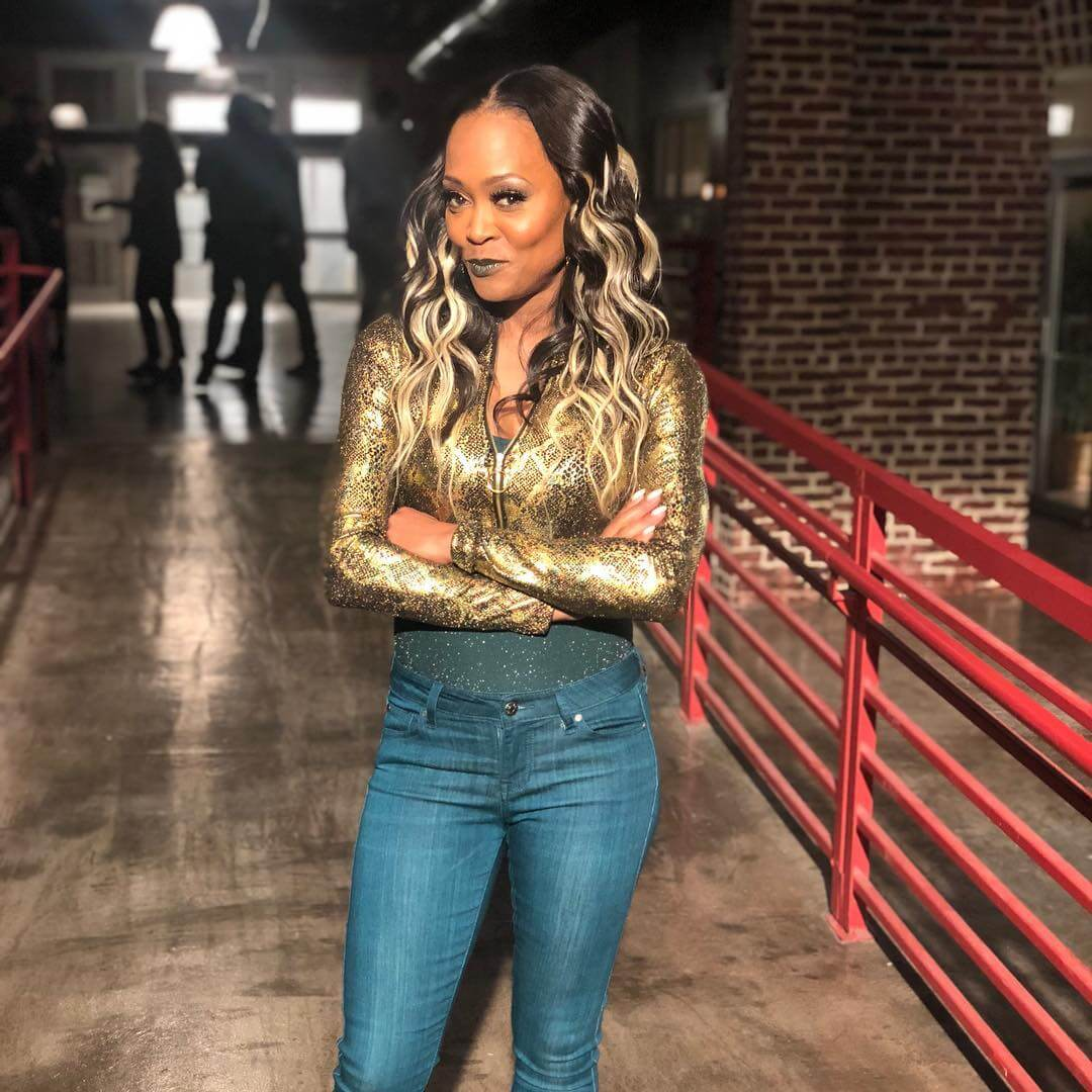 Robin Givens sexy tite jeans
