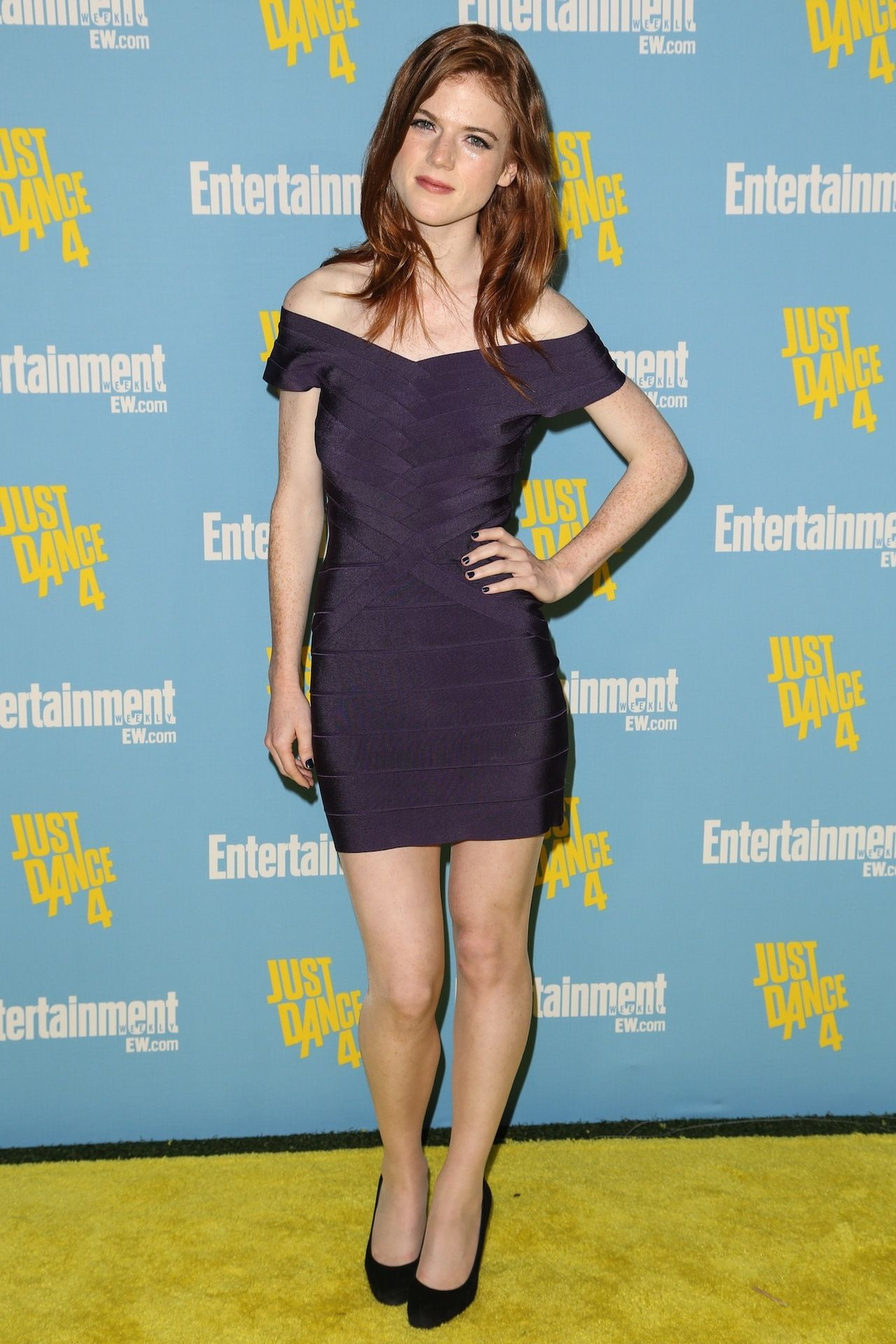 Rose Leslie hot lady picture