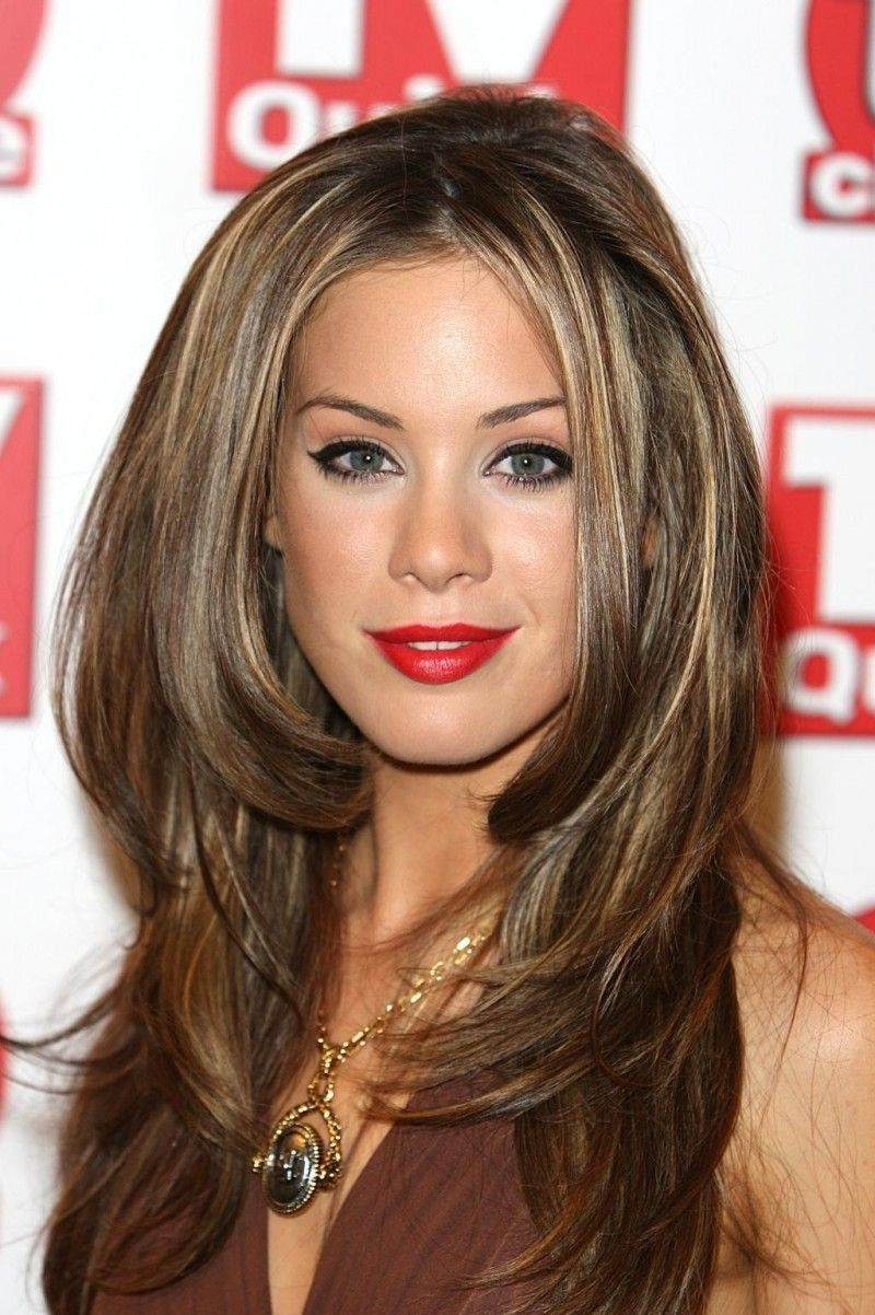 Roxanne McKee Red Lips