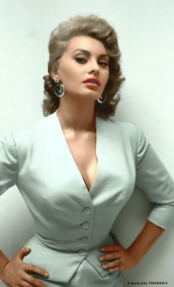Sophia Loren on Photoshoot