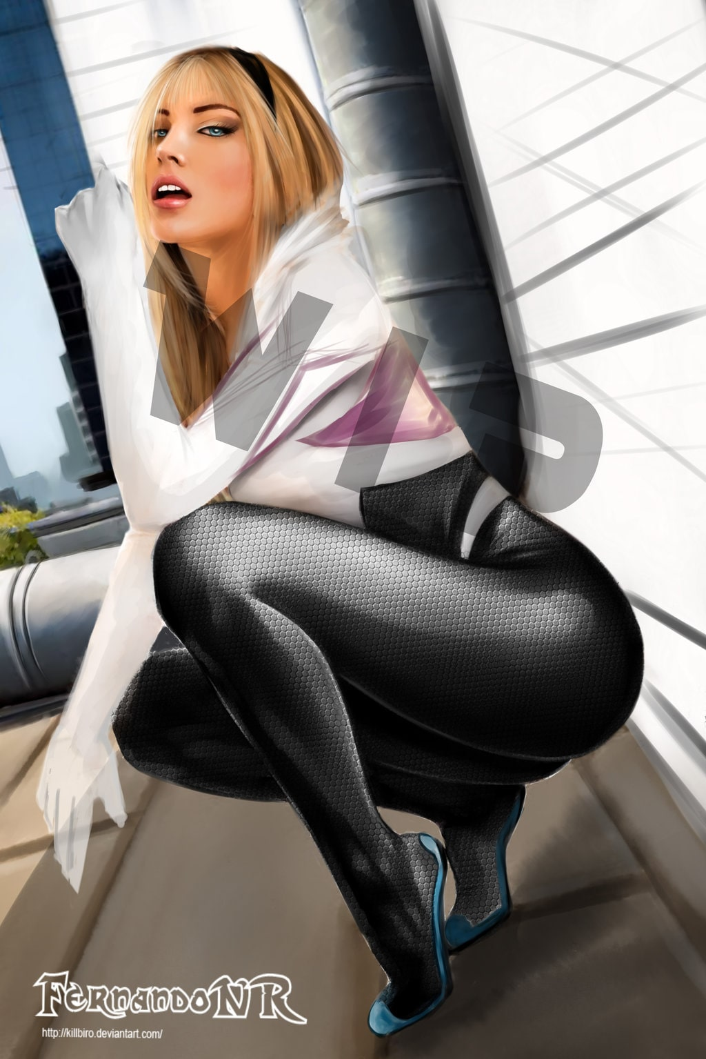 Spider Gwen ass pictures