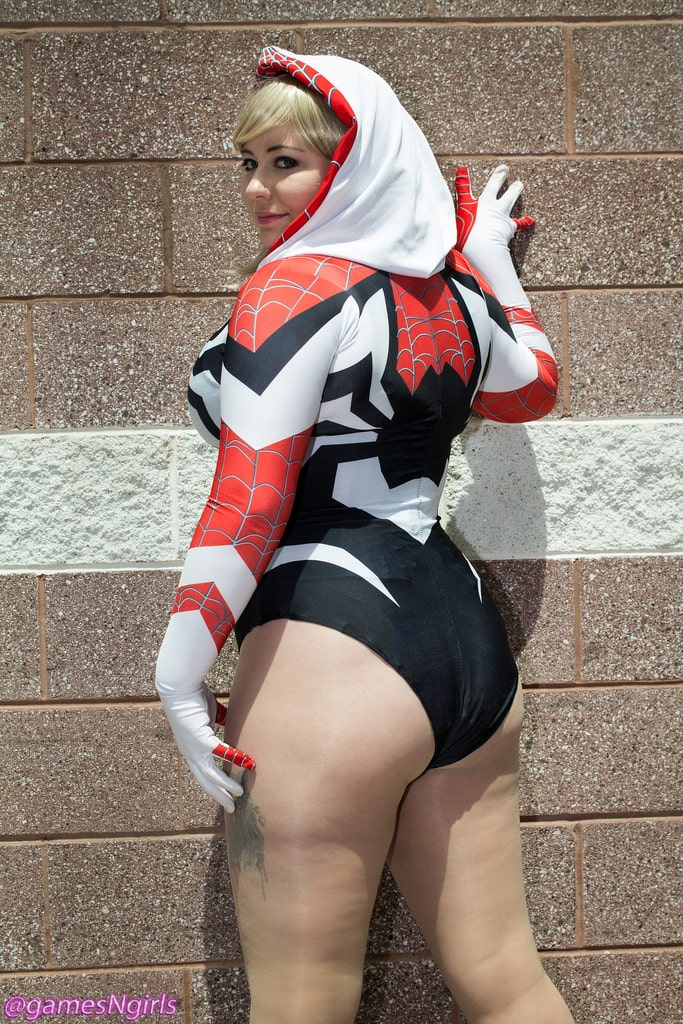 Spider Gwen butt awesome
