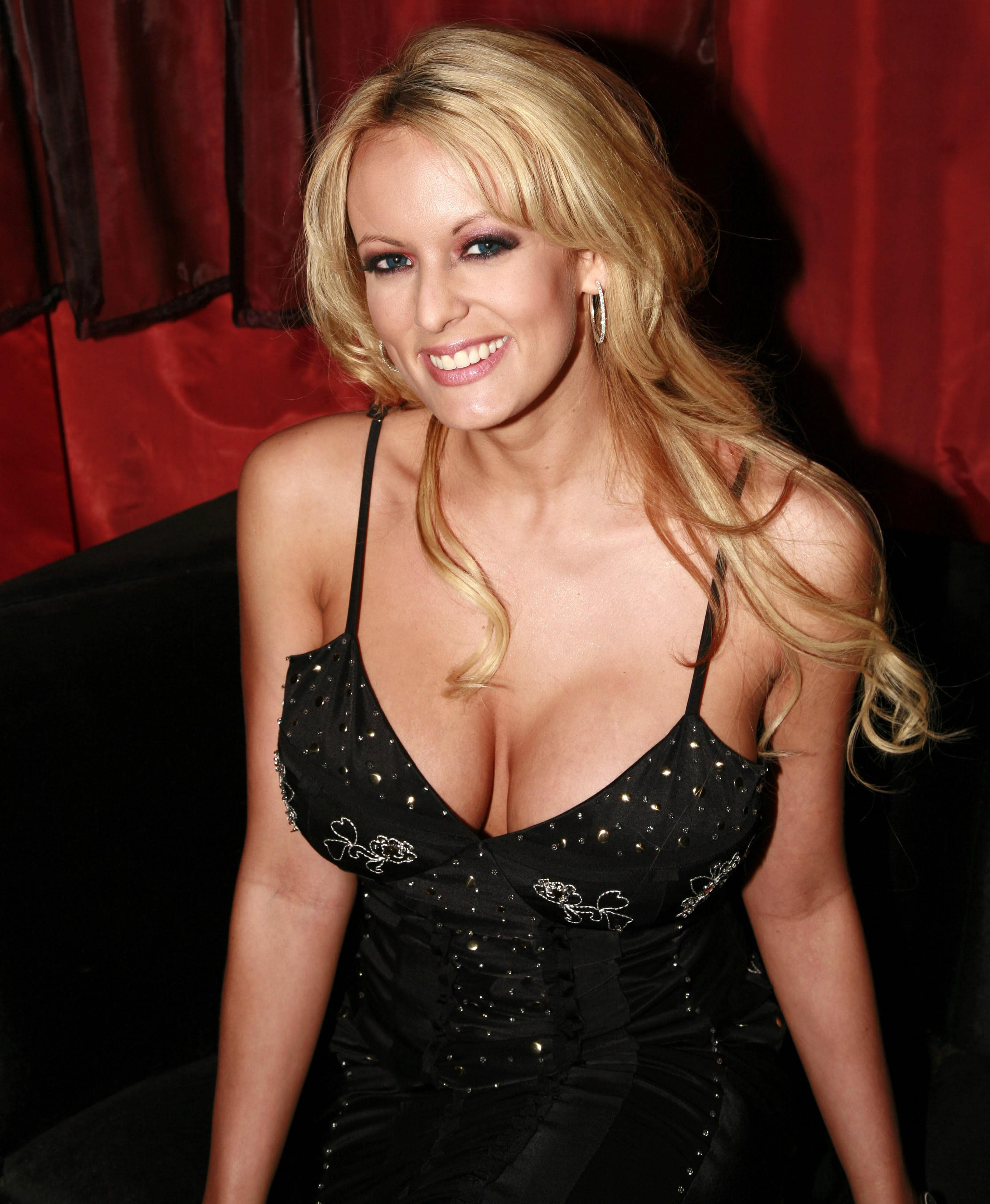 Stormy Daniels Smile