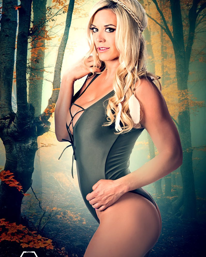 49 Hot Pictures Of Taryn Terrell WWE Diva Unveil Her Fit ...