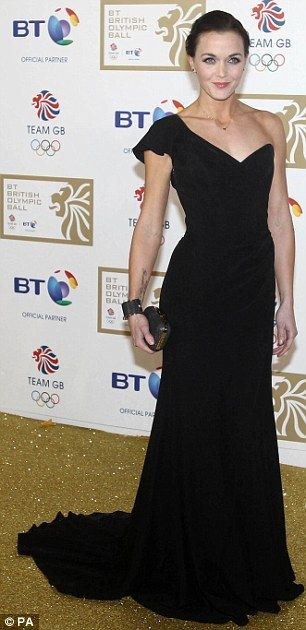 Victoria Pendleton Hot in Black