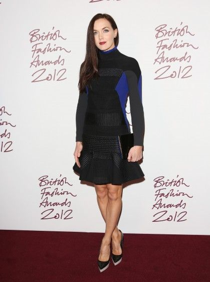 Victoria Pendleton on Fashion Awards