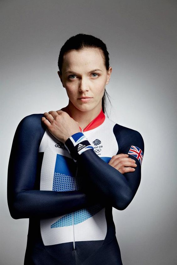 Victoria Pendleton on Sports Dress