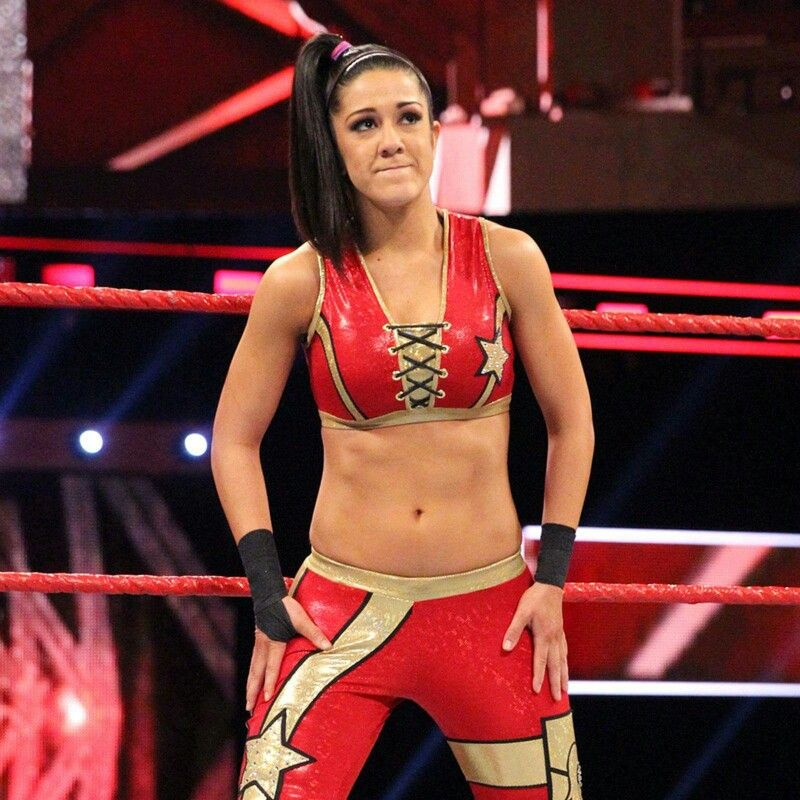 bayley red hot