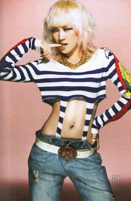 meng jia awesome thighs