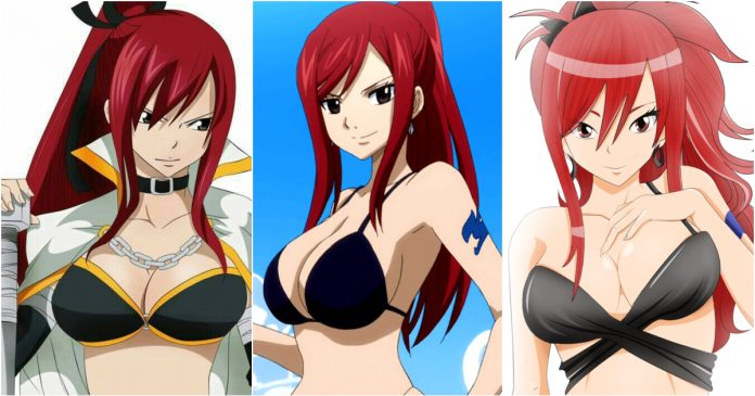 49 Hot Pictures Of Erza Knightwalker Which Expose Her Sexy Hour-glass Figure