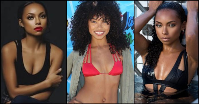 49 Hot Pictures Of Logan Browning Which Expose Her Curvy Body