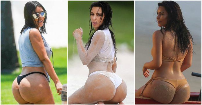 49 Hottest Kim Kardashian Big Butt Pictures Which Will Make You Drool For Her