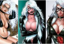 49 Sexy Black Cat Boobs Pictures Will Make You Drool For Her