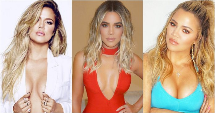 49 Sexy Khloe Kardashian Boobs Pictures Which Will Make You Go Head Over Heels