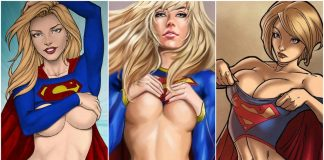 49 Sexy Supergirl Boobs Pictures Which Will Make You Want Her Now