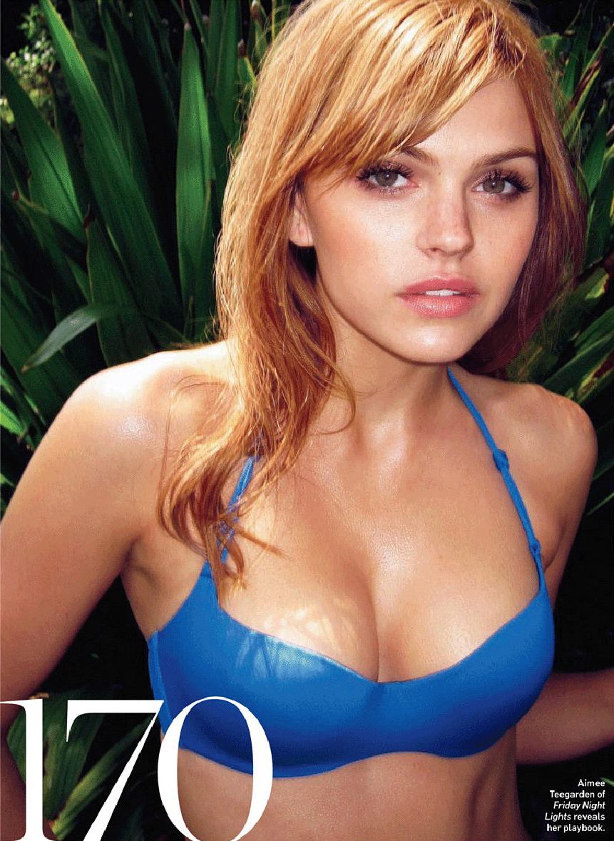 Aimee Teegarden too hot