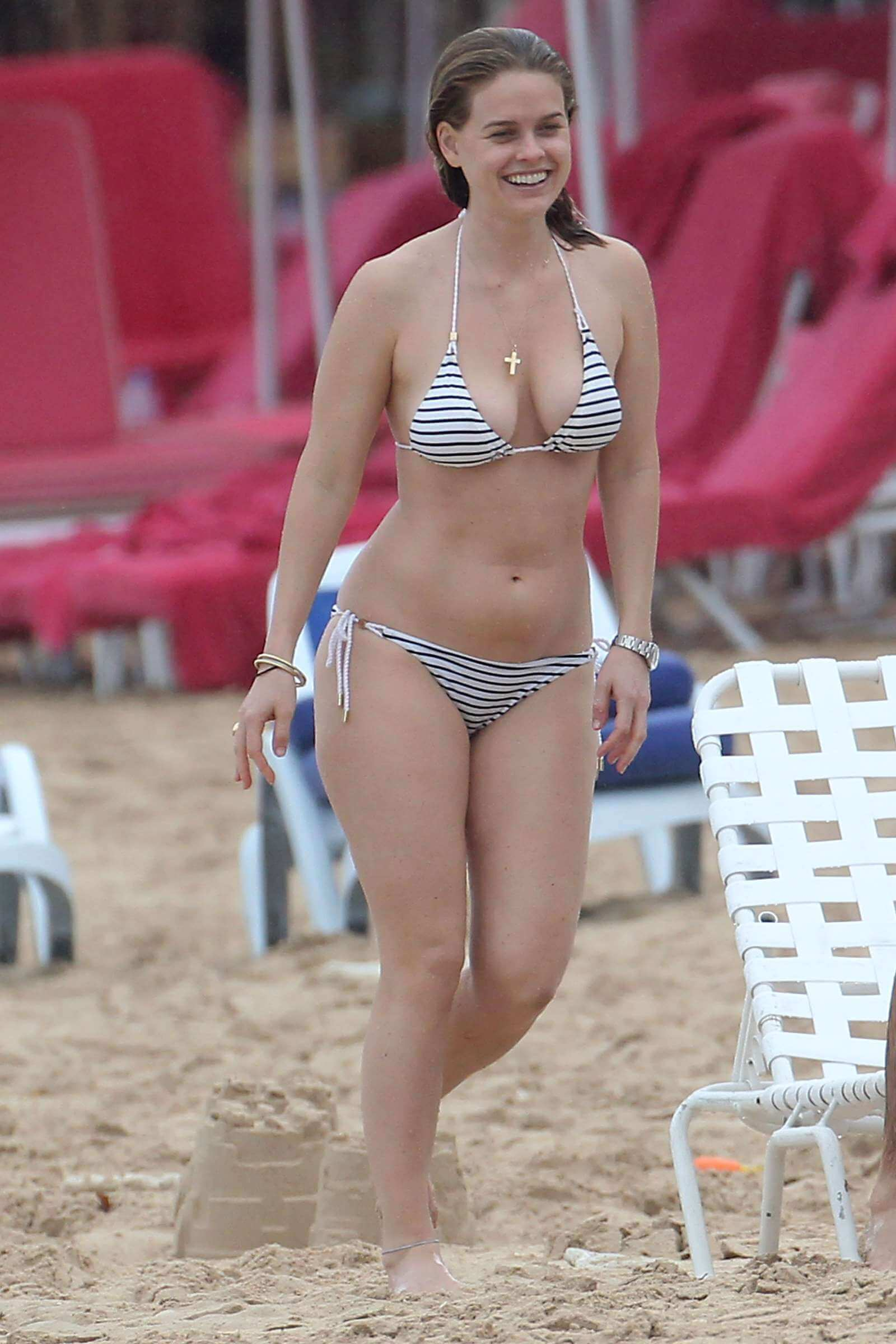 Alice Eve awesome bikini