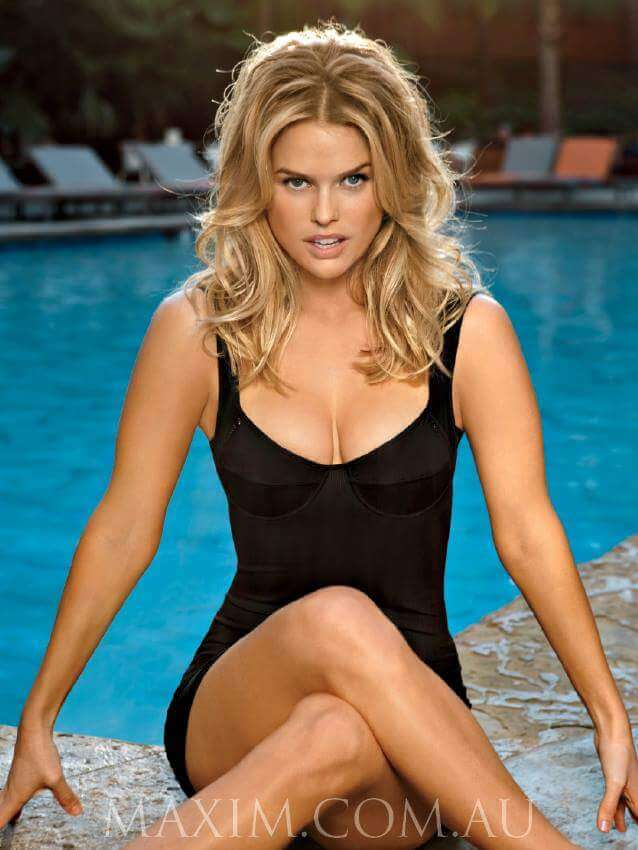 Alice Eve awesome swimsuit