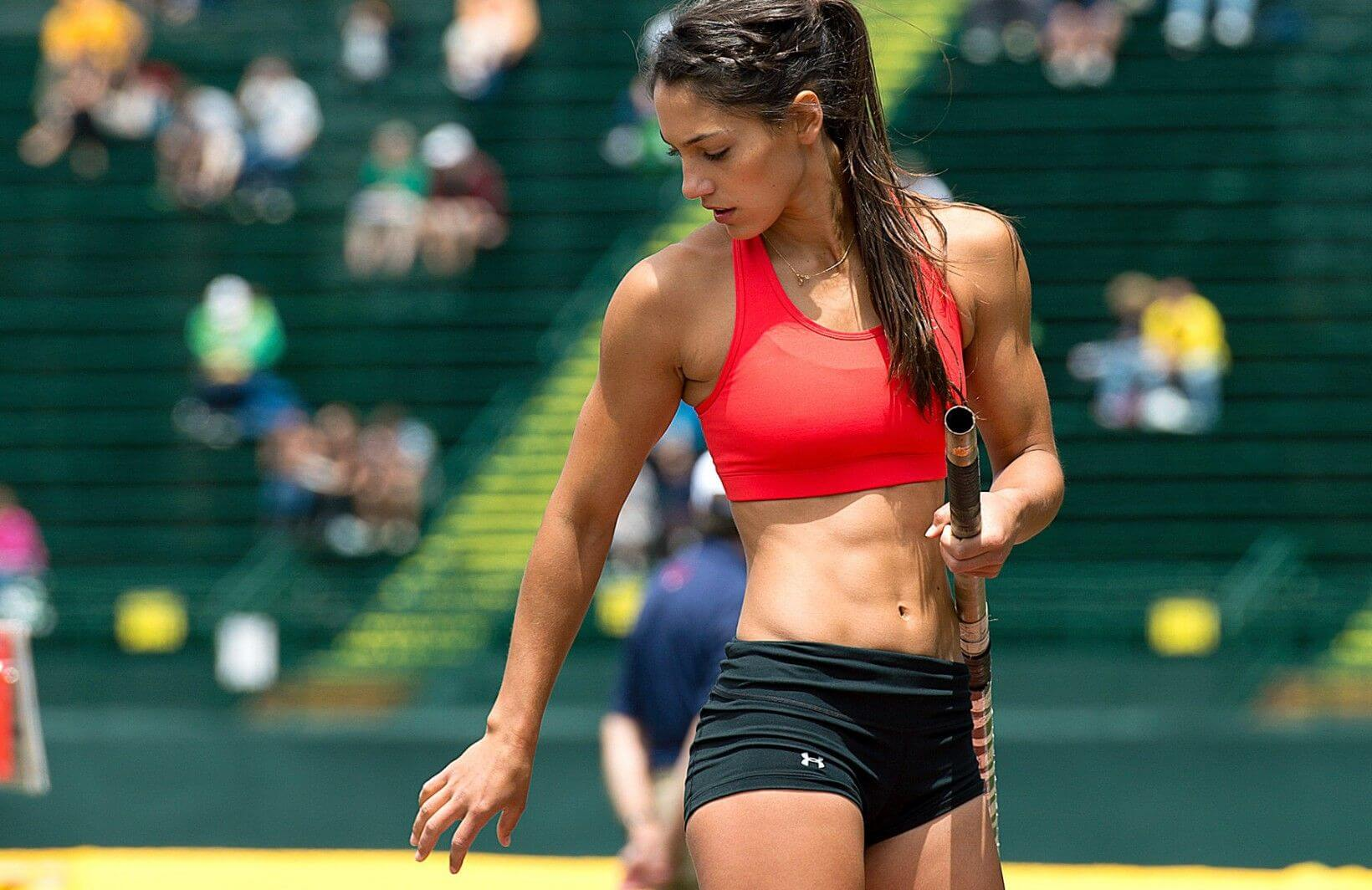 Allison Stokke sexy hairs