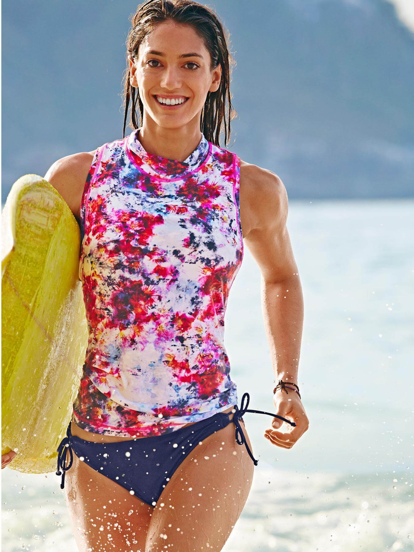Allison Stokke sexy sea beach look
