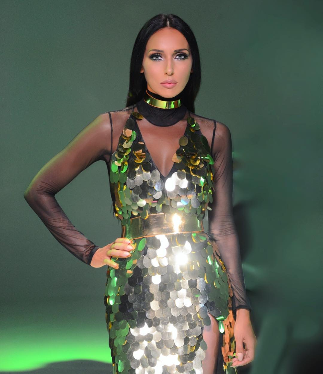 Alsou Hot Dress