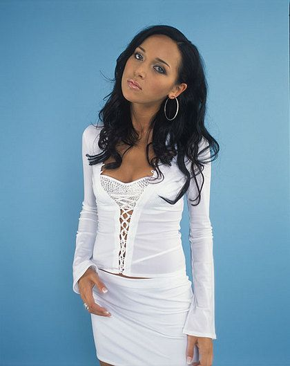 Alsou on Photoshoot