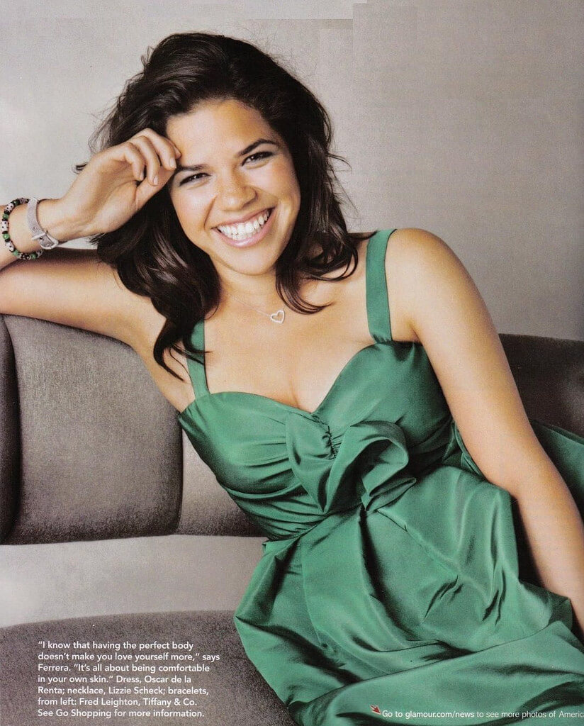 America Ferrera hot cleavages