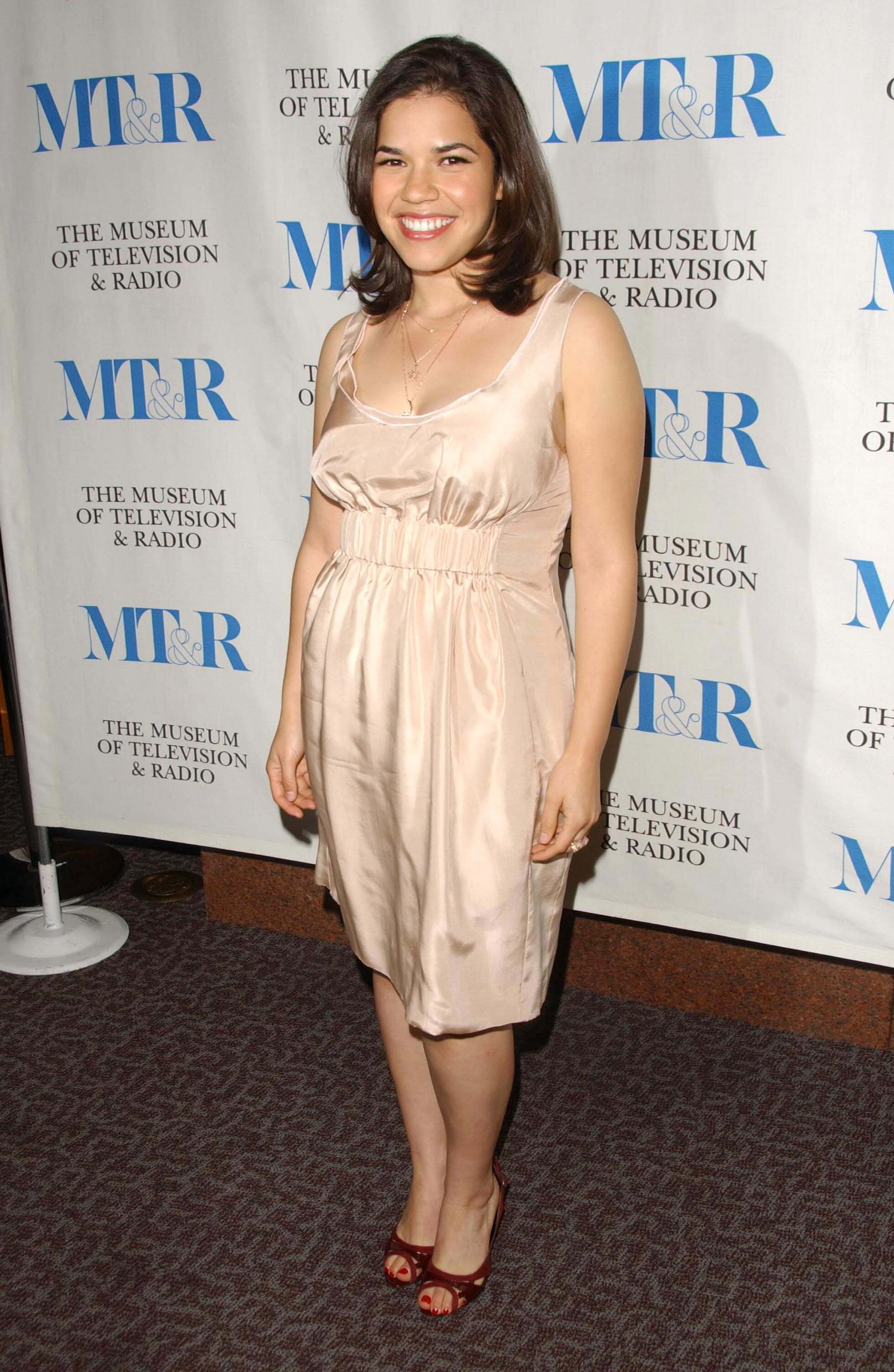 America Ferrera sexy photos dress