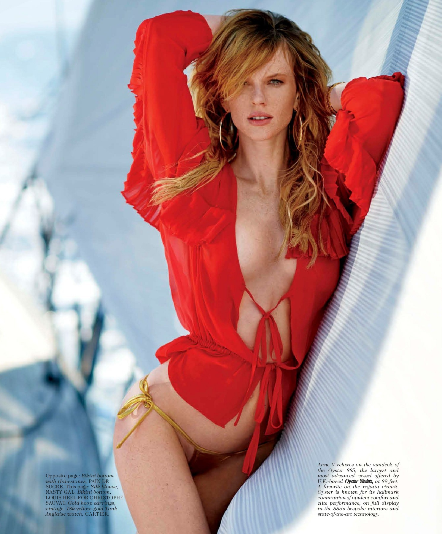 Anne Vyalitsyna hot women pic