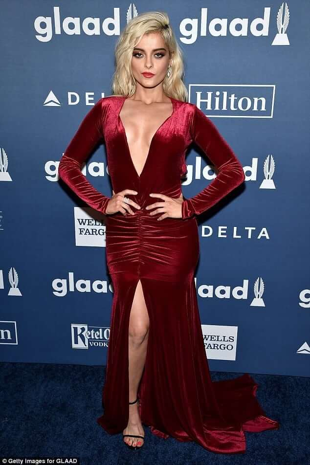 Bebe Rexha cleavage photo