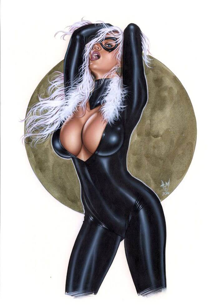 Black Cat awesome look