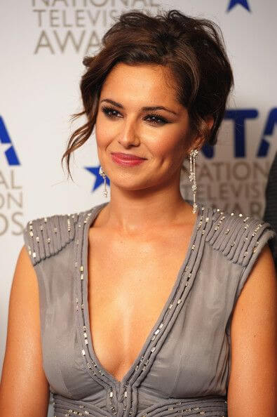 CHERYL COLE cleavage pic