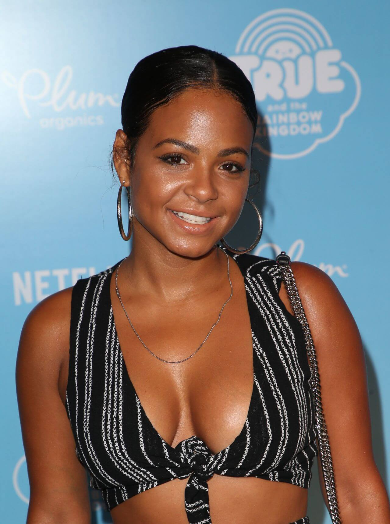 CHRISTINA MILIAN cleavage photos