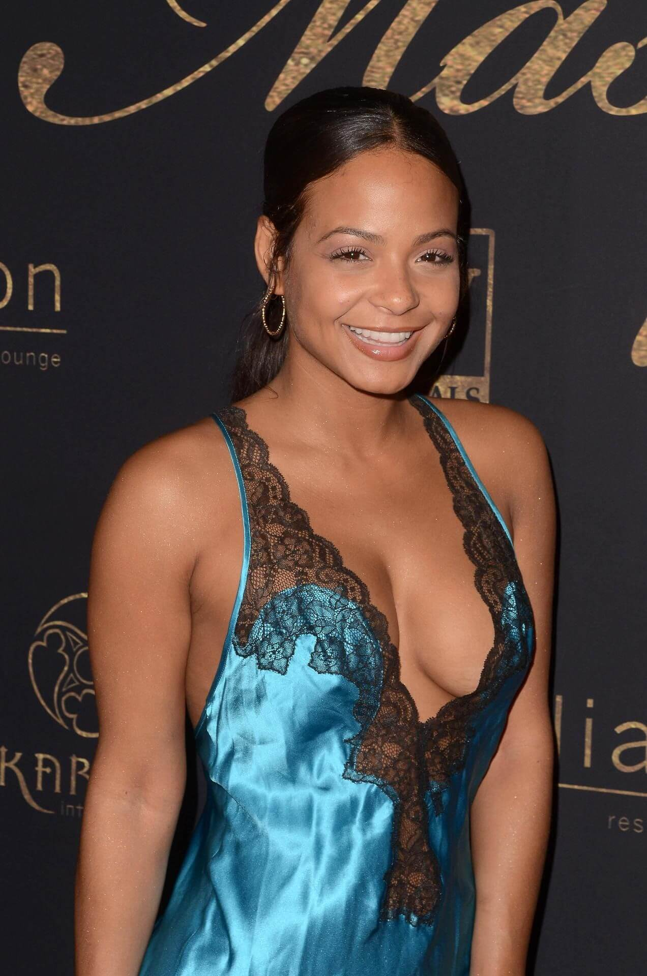 CHRISTINA MILIAN cleavage pic (2)