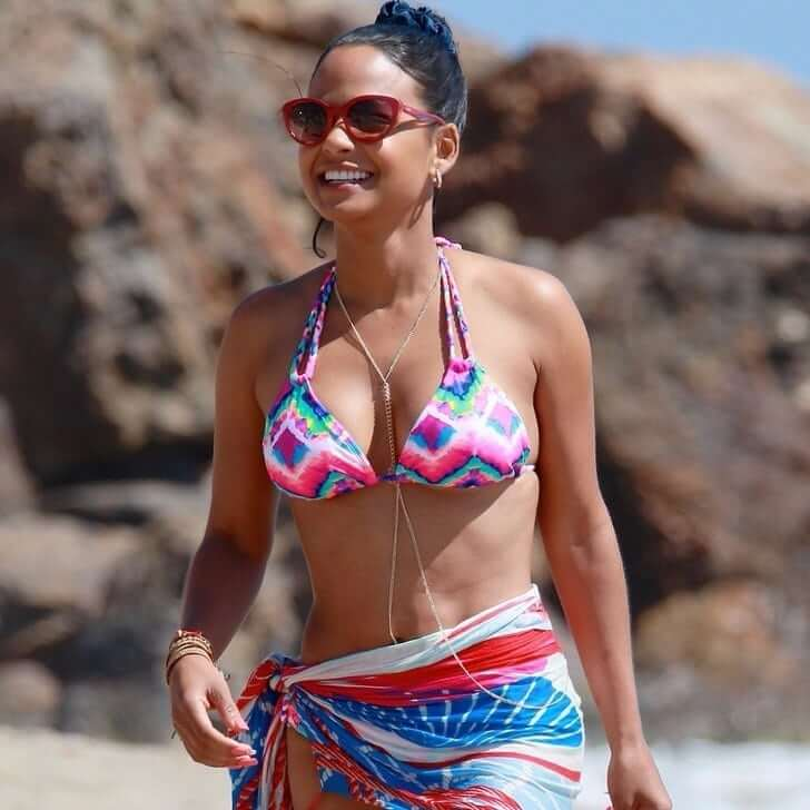 CHRISTINA MILIAN cleavage pics